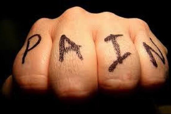 Pain fist